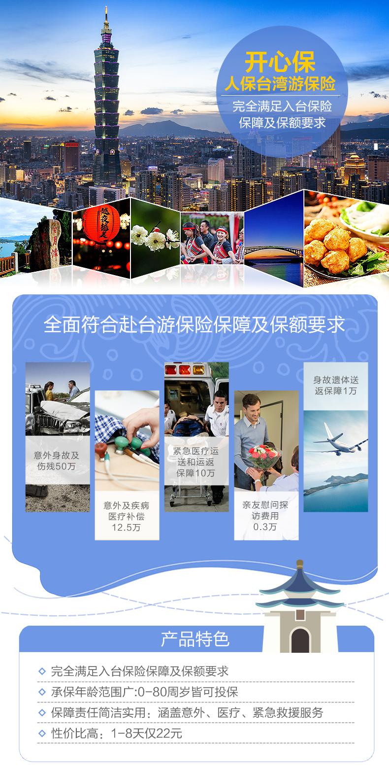 人保台湾游保险-紧急救援服务